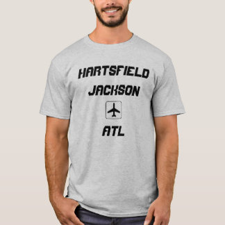 Hartsfield Jackson Atlanta, Georgia Airport Code T-Shirt