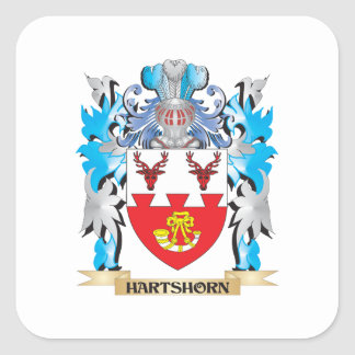 Hartshorn Coat of Arms - Family Crest Stickers