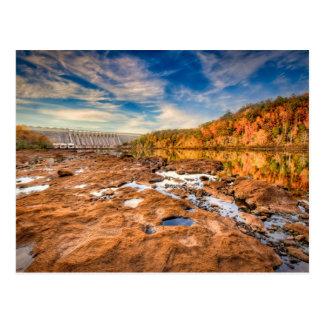 Hartwell Dam Postcard