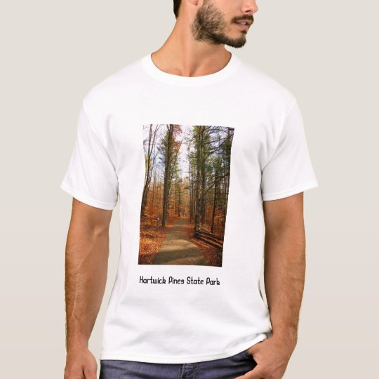 Hartwick Pines in the Fall T-Shirt