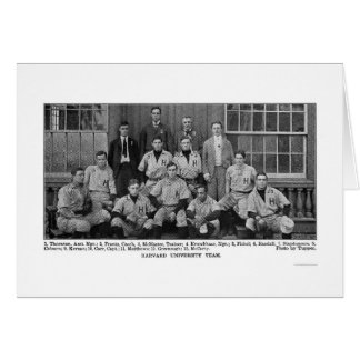Harvard Baseball Team 1904 Card