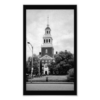 Harvard Bell Tower Photograph
