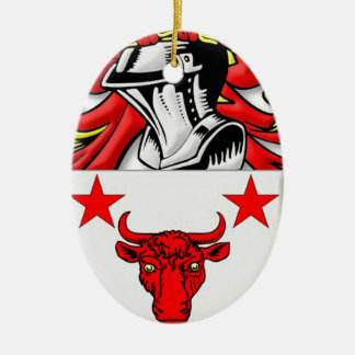 Harvard Coat of Arms Christmas Ornaments