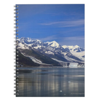 Harvard Glacier in College Fjord, Alaska Spiral Notebook