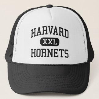 Harvard - Hornets - High School - Harvard Illinois Trucker Hat