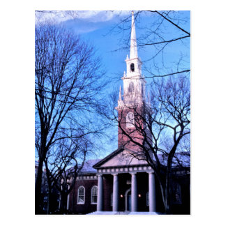 Harvard Memorial Chapel Postcard