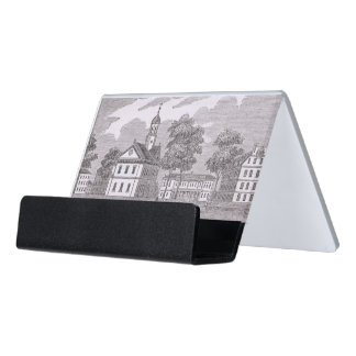 Harvard University, from 'Historical Desk Business Card Holder