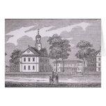 Harvard University, from 'Historical Greeting Card