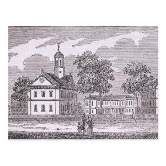 Harvard University, from 'Historical Postcard