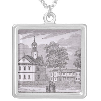 Harvard University, from 'Historical Silver Plated Necklace
