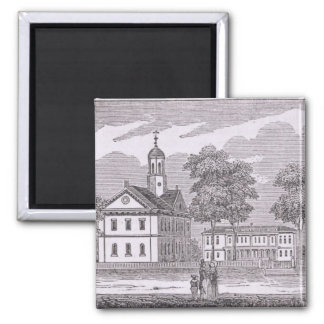 Harvard University, from 'Historical Square Magnet