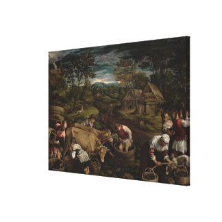 Harvest, , 1576 canvas print