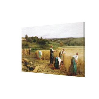 Harvest, 1874 canvas print