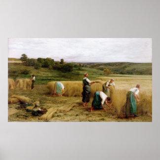 Harvest, 1874 poster