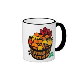 Harvest Basket Ringer Mug