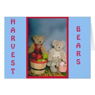 Harvest Bears Card