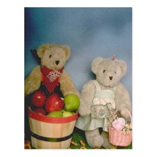 Harvest bears postcard