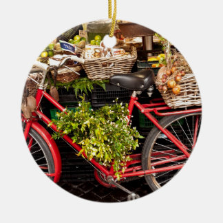 Harvest Bicycle Christmas Ornament