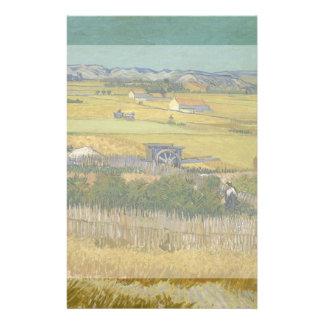 Harvest by Vincent Van Gogh Flyers