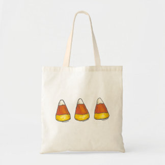 Harvest Candy Corn Halloween Thanksgiving Tote