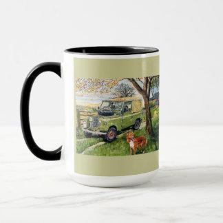 Harvest Cheer Ringer Mug
