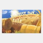 Harvest Day Sale Sticker