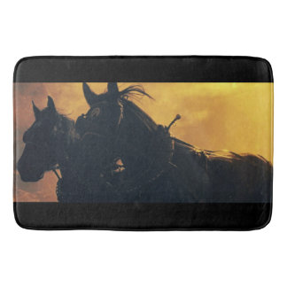 Harvest Drive Draft Horse Bathmat