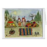 """""""Harvest Feast"""" Greeting Cards"""