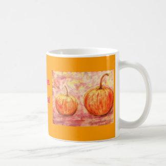 harvest  festival basic white mug