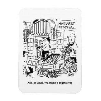 Harvest Festival Rectangular Photo Magnet