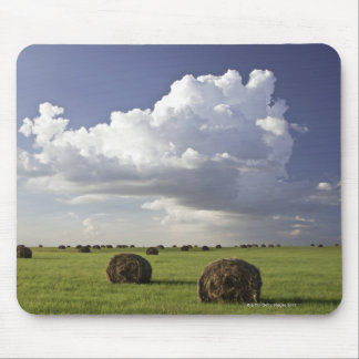 Harvest fields with storm clouds, Heidelberg Mouse Mat