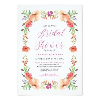 HARVEST GARDEN BRIDAL SHOWER Invitation