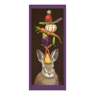 Harvest Hare flat card