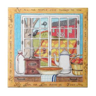 Harvest Home Inspirational Tile