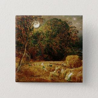 Harvest Moon 15 Cm Square Badge