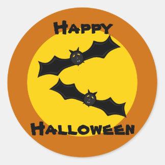 Harvest Moon Bats Customizable Stickers