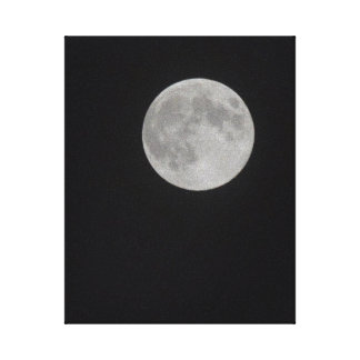 Harvest Moon Gallery Wrap Canvas
