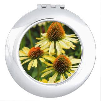 Harvest Moon Coneflower Compact Mirror