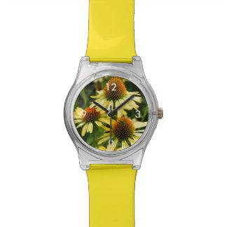 Harvest Moon Coneflower May28th Wrist Watch
