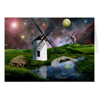 Harvest moon.. greeting card