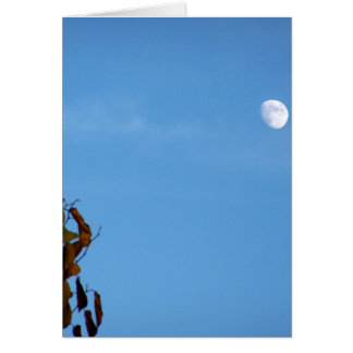 Harvest Moon In October Greeting Card
