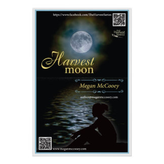 """Harvest Moon Official Poster 24"""" x 36"""""""