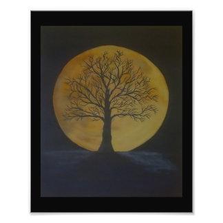 Harvest Moon Photo Art