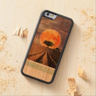 Harvest Moon Wooden Case Cherry iPhone 6 Bumper Case