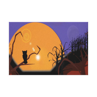 Harvest Moon Wrapped Canvas Gallery Wrap Canvas