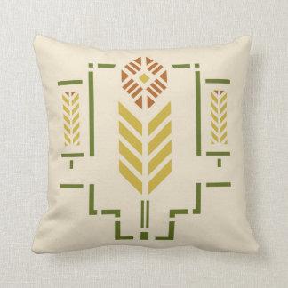 'Harvest' Stencil Throw Pillow