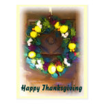 Harvest Thanksgiving postcard