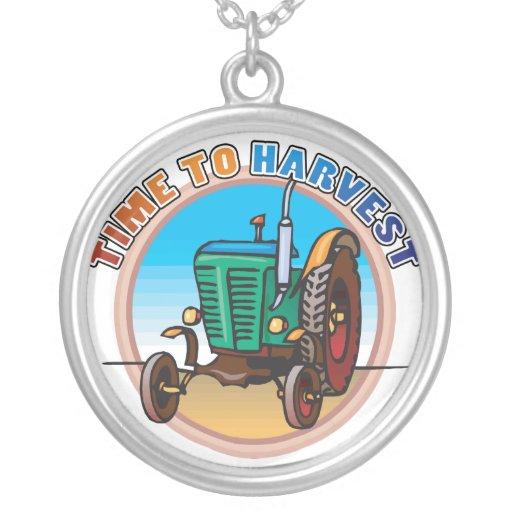 Harvest Time Online Farming  Necklace