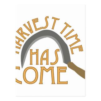 Harvest Time Postcard