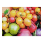 Harvest Time - Tomatoes! Poster